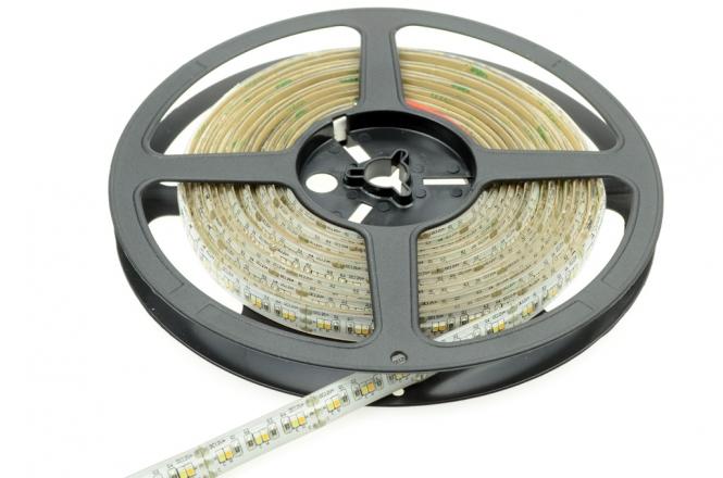 LED-Lichtband 315 ww/ 360 kw Lumen 12V DC warm/kaltweiss 36W/ 72W IP65, CRI>90 DC-kompatibel