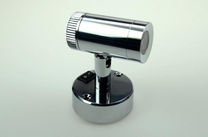 LED-Leseleuchte 120 Lumen 12V DC warmweiss 2,5W Schalter, integrierter Dimmer DC-kompatibel