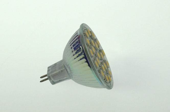 GU5.3 LED-Spot PAR16 310 Lm. 12V AC/DC warmweiss 2,8W dimmbar DC-kompatibel