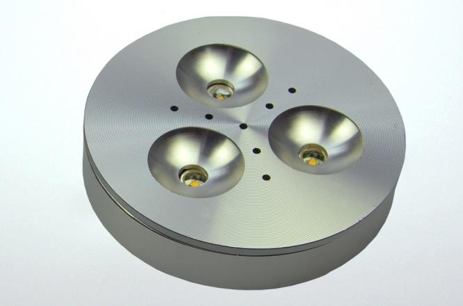 LED-Aufbauleuchte 140 Lumen 12V DC warmweiss 3,6W DC-kompatibel