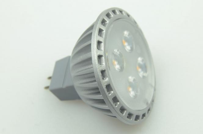 GU5.3 LED-Spot PAR16 350 Lm. 12V AC/DC warmweiss 5W dimmbar DC-kompatibel