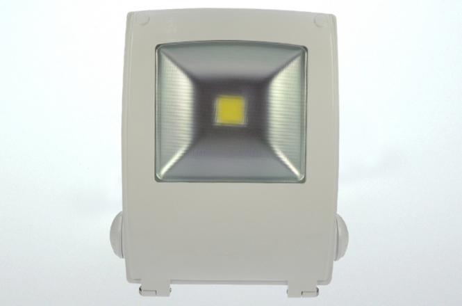 LED-Flutlichtstrahler 4250 Lumen 230V AC warmweiss 50W Strukturiertes Glas