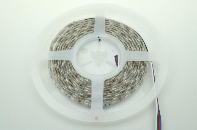 LED-Lichtband 210 Lumen 12V DC RGB 43,2W Seqeunz +GRB DC-kompatibel