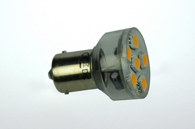 BA15S LED-Bajonettsockellampe 100 Lm. 12V AC/DC warmweiss 1W dimmbar DC-kompatibel