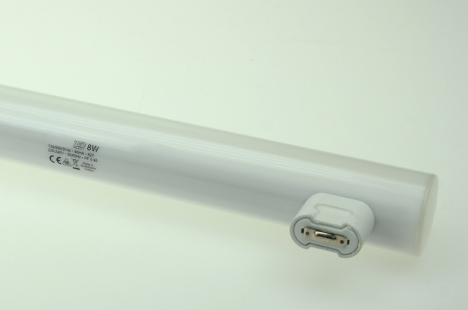 S14s LED-Linienlampe 500 Lm. 230V AC warmweiss 8W