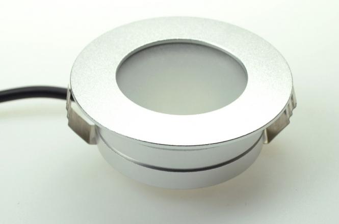 LED-Downlight 150 Lumen 12V AC/DC warmweiss 2W DC-kompatibel