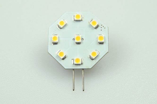 G4 LED-Modul 63 Lm. 12V AC/DC warmweiss 0,5W dimmbar DC-kompatibel