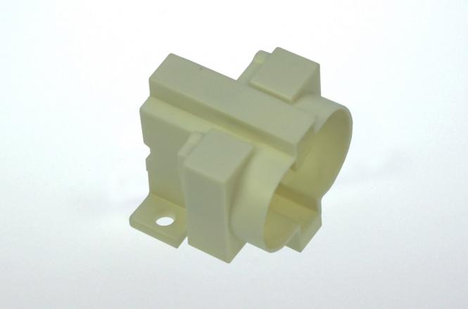 LED-Halter für Kompaktleuchtstofflampe G23, weiß