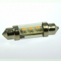 S8x37 LED-Soffitte 50 Lm. 12V AC/DC kaltweiss 0,8W dimmbar DC-kompatibel