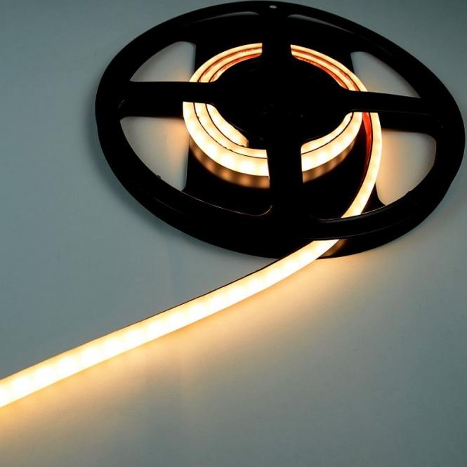 LED-Lichtband 480 Lumen 12 DC warmweiss 9,6W Opale Beschichtung DC-kompatibel